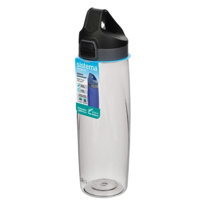 Sistema Hydrate Adventum drinkfles 900ml Zwart