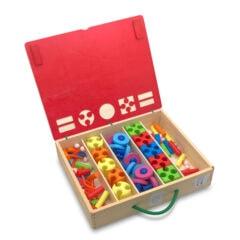 Wizzwizz 40-delige set in houten kist