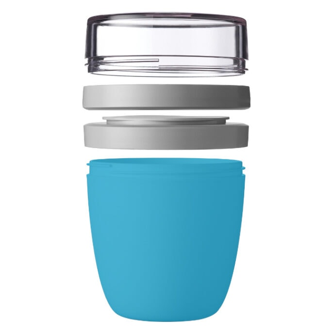 Mepal Ellipse Lunchpot 700ml Blauw Open