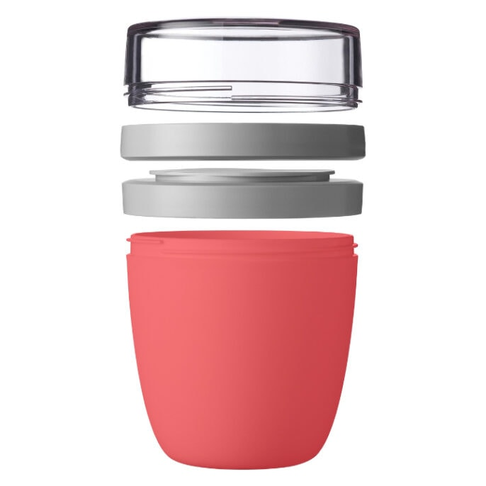 Mepal Ellipse Lunchpot 700ml Nordic Red Open
