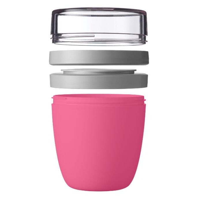 Mepal Ellipse Lunchpot 700ml Roze Open