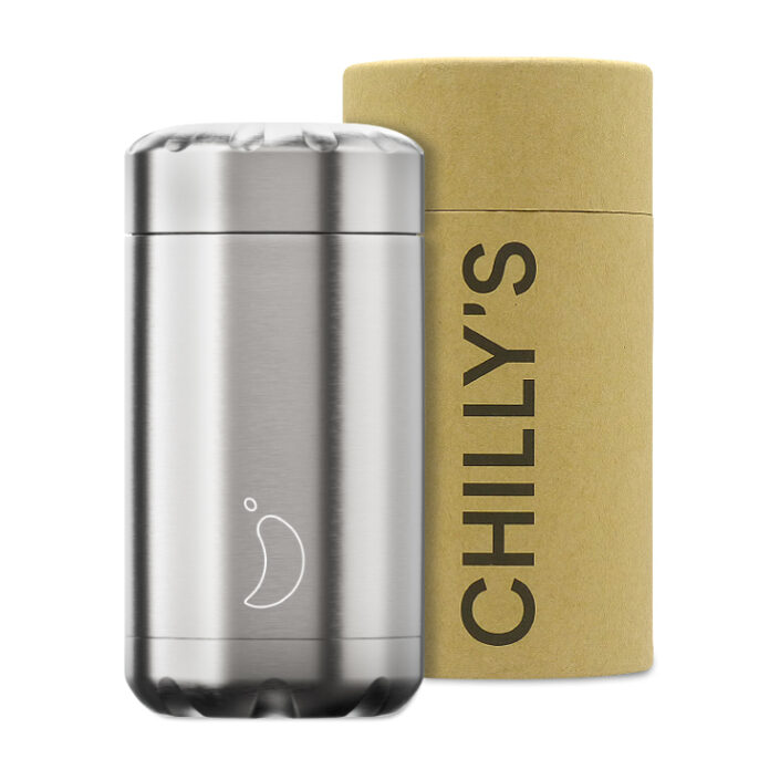 Chilly's Food Pot Isoleerbeker 500ml Stainless Steel