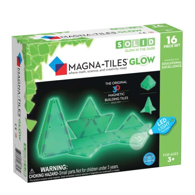 Magna-Tiles Glow In The Dark Set 16-delig